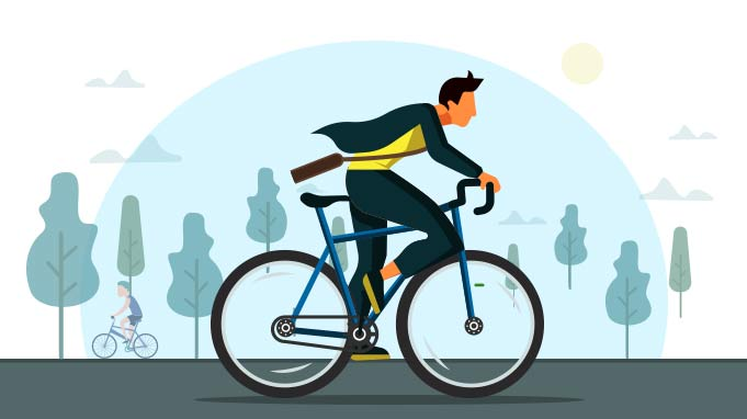 Cycle To Work Scheme Encouraging Employees To Cycle To