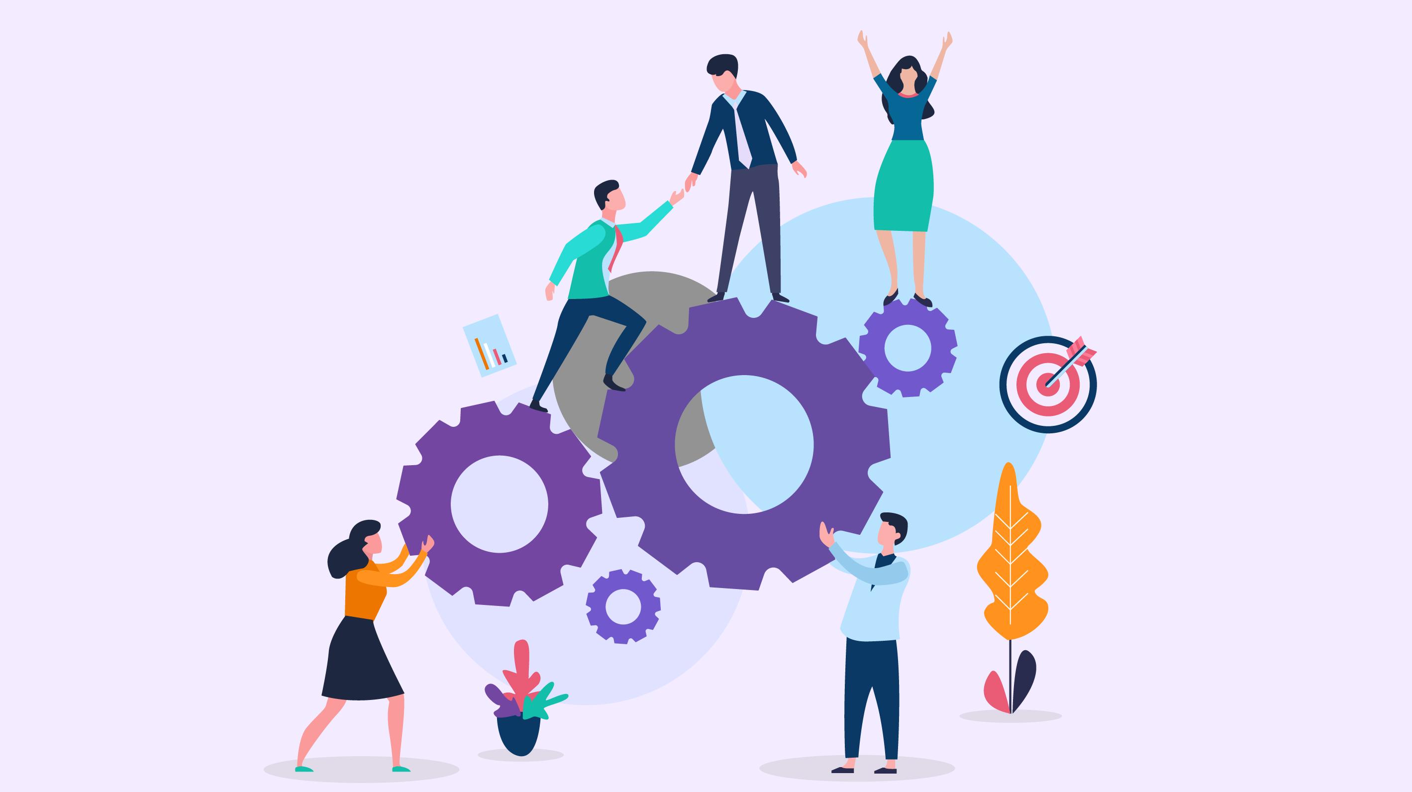 Why Sales Participation During Campaign Development ... |Team Building Blocks Graphics