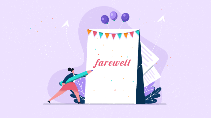 farewell messages for your employees and co workers