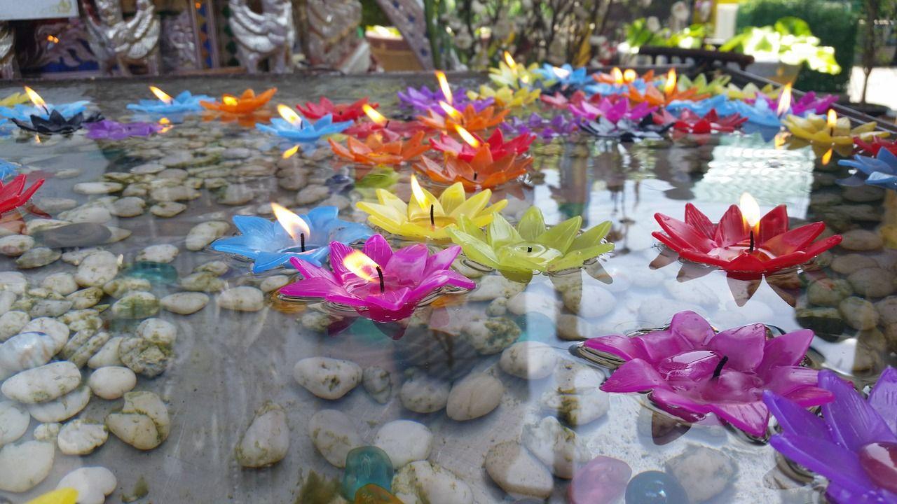 diwali_office_decoration_ideas_floatingcandles