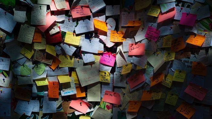 team-building-activities-memory-wall