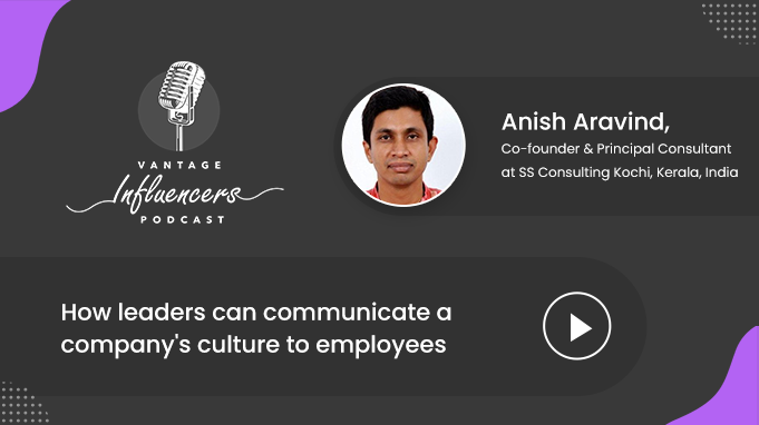 How leaders can communicate a company's culture to employees