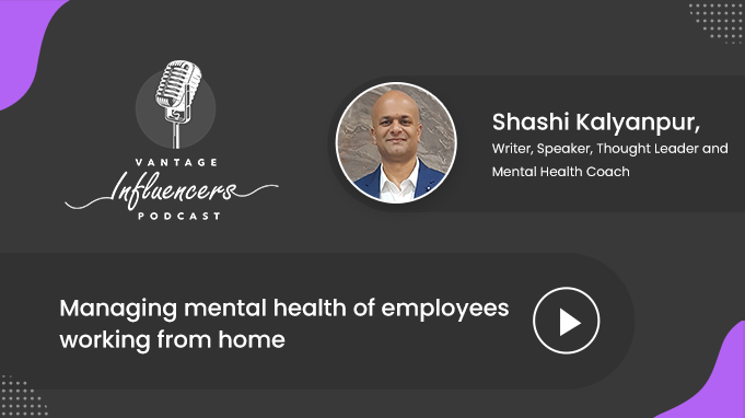 Managing mental health of employees working from home
