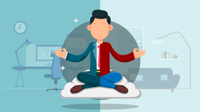 How can employers help their remote workers with overwork and stress?