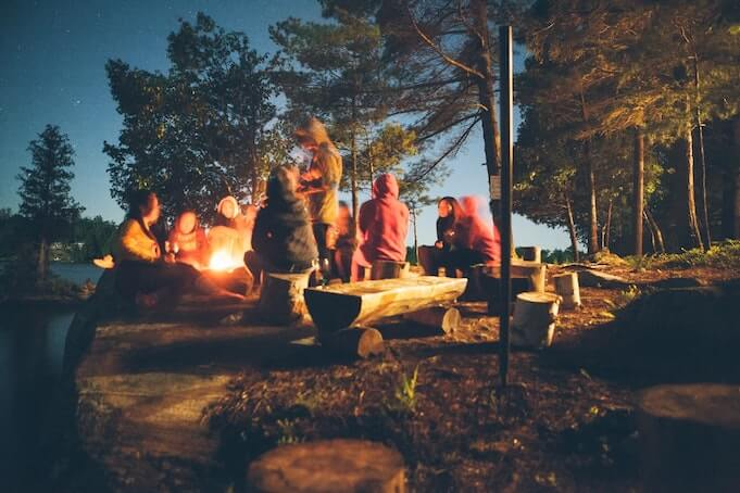 company-outing-ideas-camping