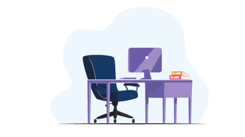 Work_from_home_setup_Ergonomic_office_chair