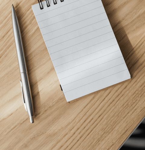 secret-santa-gift-ideas-for-coworkers-notepad-and-pen