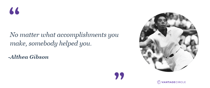 Teamwork quotes by Althea Gibson