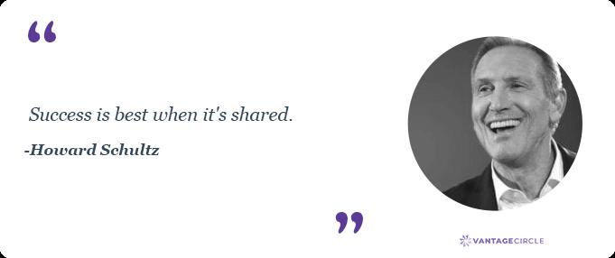 Teamwork quotes by Howard Schultz