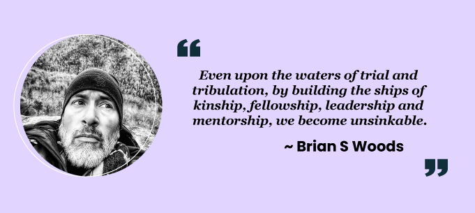 Teamwork quotes by Brian S Woods