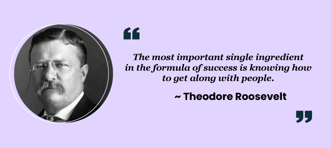 Teamwork quotes by Theodore Roosevelt