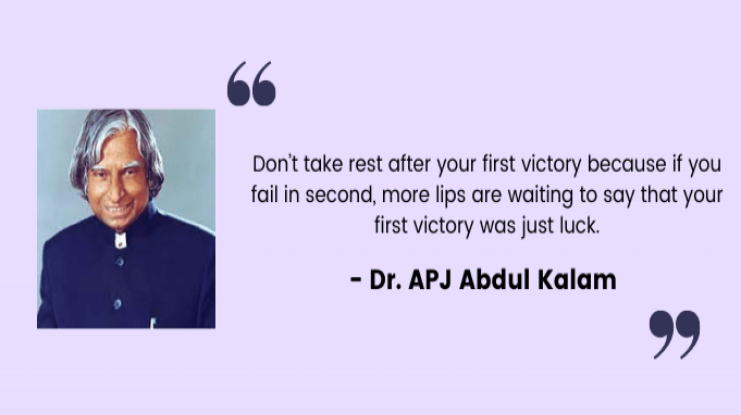 Employee motivation quotes by APJ Abdul Kalam
