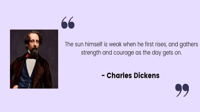 Employee motivation quotes by Charles Dickens