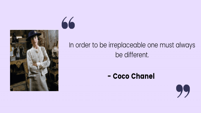 Employee motivation quotes by Coco Chanel