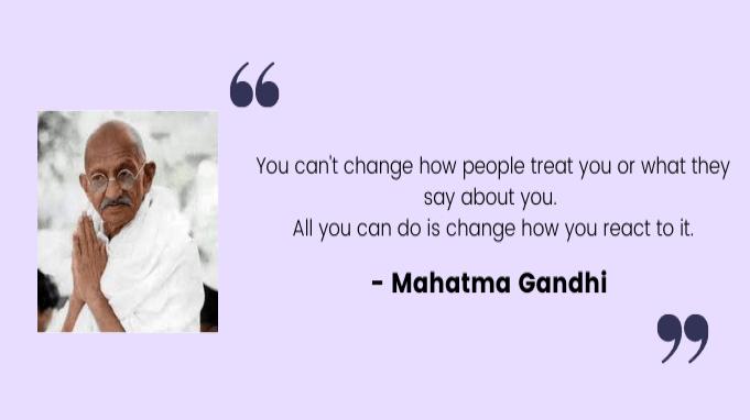 Employee motivation quotes by Mahatma Gandhi