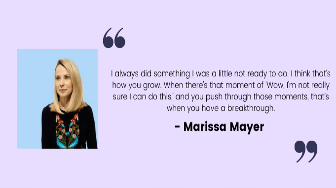 Employee motivation quotes by Marissa Mayer