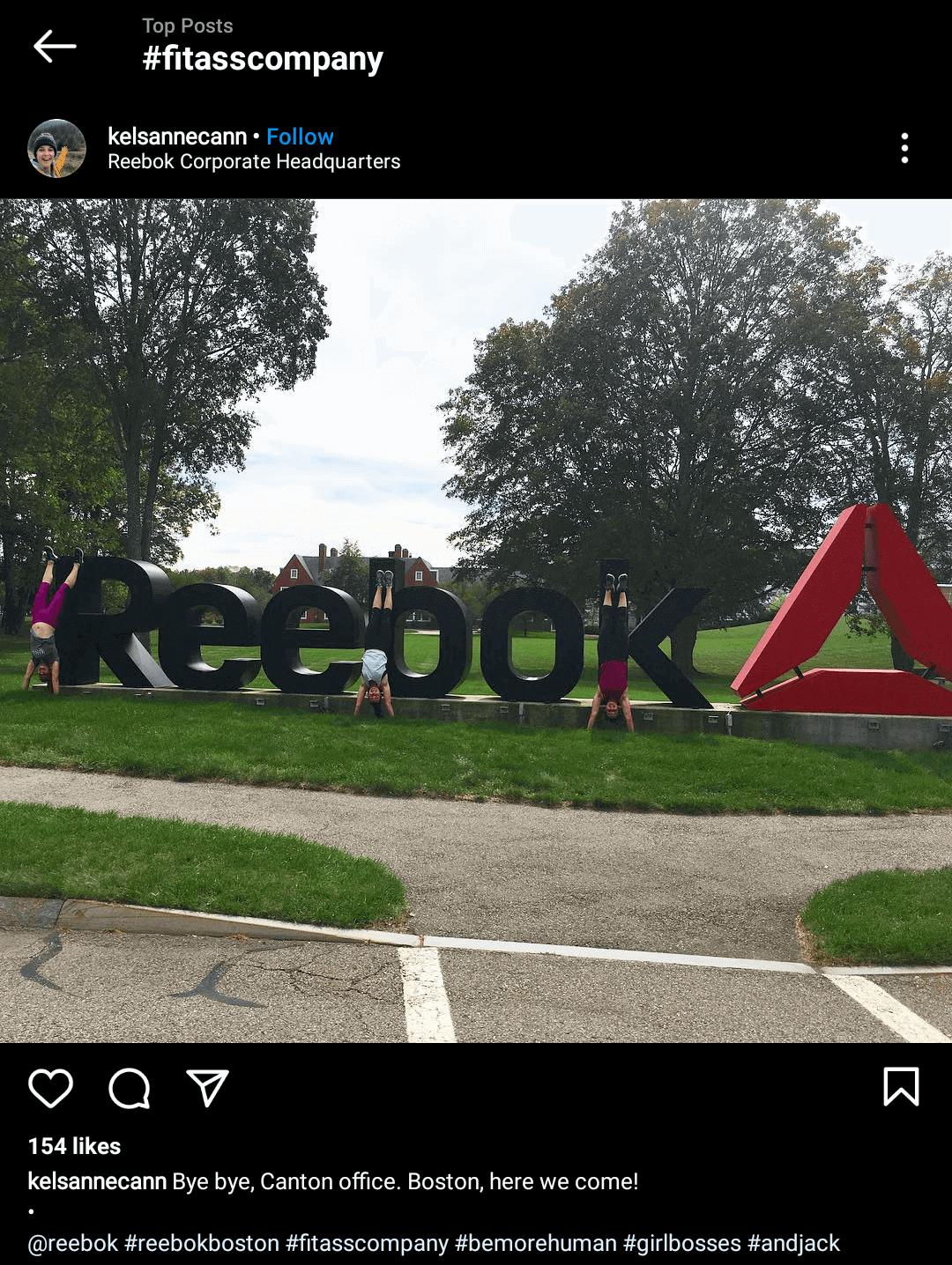 Reebok-advocacy