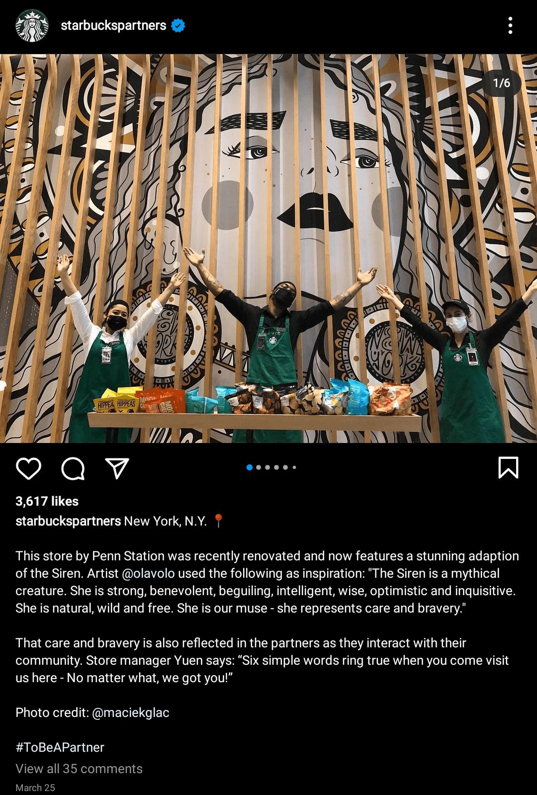 Starbucks-Advocacy
