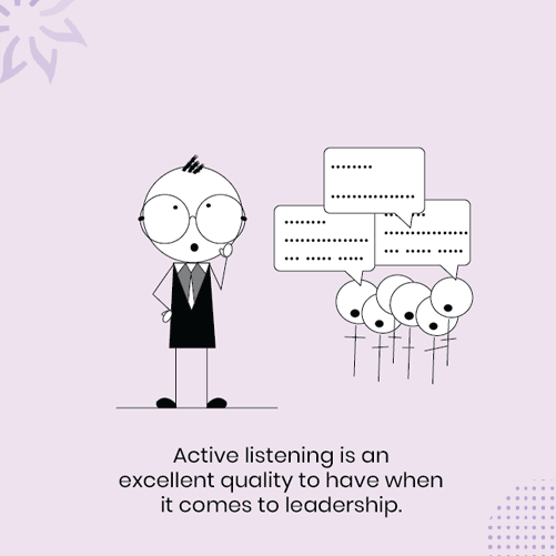 A-leader-actively-listening-to-its-team