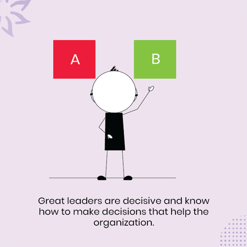 A-leader-deciding-between-two-solutions