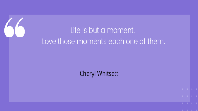 Friday quotes by Cheryl Whitsett